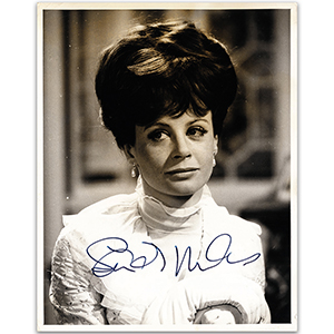 Sarah Miles - Autograph - Signed Black and White Photograph