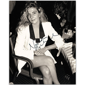 Natasha Richardson - Autograph - Signed Black and White Photograph