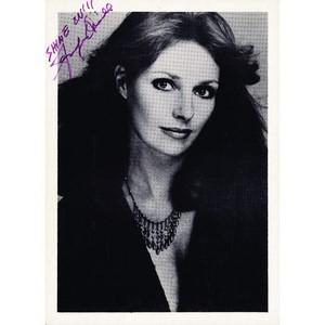 Jennifer O'Neill - Autograph - Signed Black and White Photograph
