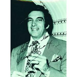 Frankie Vaughan - Autograph - Signed Black and White Photograph