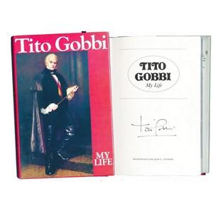 Tito Gobbi - Autograph - Signed Book
