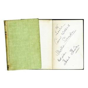 Mollie Sugden & Frank Thornton - Autograph - Signed Book