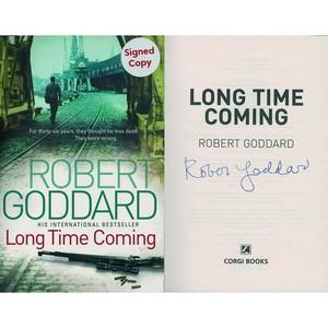 Robert Goddard - Autograph - Signed Book