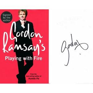 Gordon Ramsey - Autograph - Signed Book