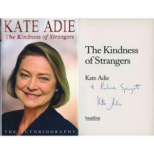 Kate Adie - Autograph - Signed Book
