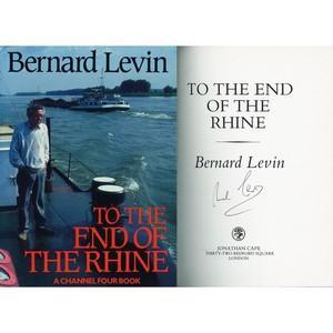 Bernard Levin - Autograph - Signed Book