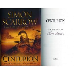 Simon Scarrow - Autograph - Signed Book