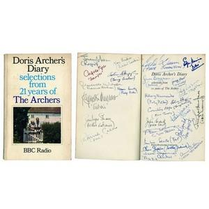 Doris Archer's Diary - Signed by Cast - 1971