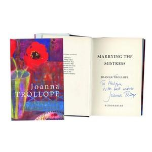 Joanna Trollope 'Marrying the Mistress' - Signed Book
