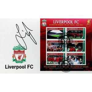 Jamie Carragher  Signed First Day Cover