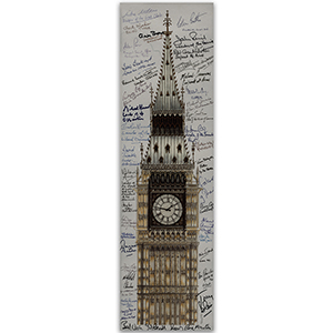 Big Ben Framed Image - Former and Current MPs