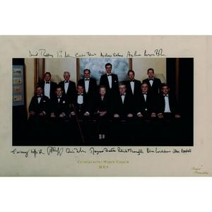 Conservative Whips' Dinner 2004 - Signatures - Signed Colour Photograph
