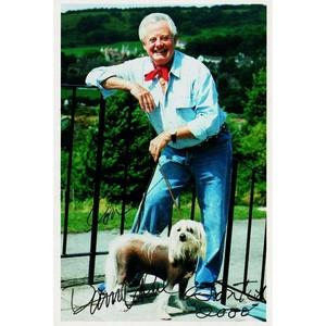 Danny La Rue - Autograph - Signed Colour Photograph