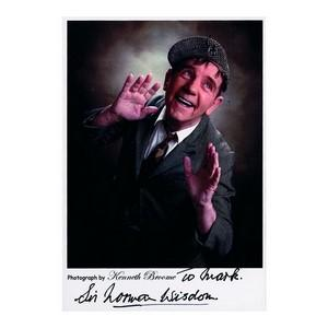 Norman Wisdom - Autograph - Signed Colour Photograph