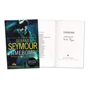 Gerald Seymour - Autograph - Signed Book