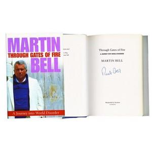 Martin Bell Autograph - Through the Gates of Fire - Signed Book