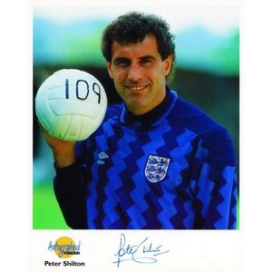 Peter Shilton  - Autograph - Signed Colour Photograph