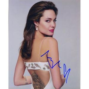 Angelina Jolie - Autograph - Signed Colour Photograph