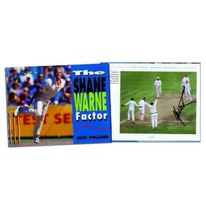 Shane Warne - Autograph - Signed Colour Photograph