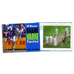 Shane Warne - Autograph - Signed Colour Photograph