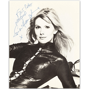 Susan Hampshire - Autograph - Signed Black and White Photograph