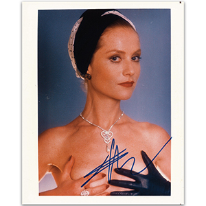 Isabelle Huppert Autograph Signed Photograph
