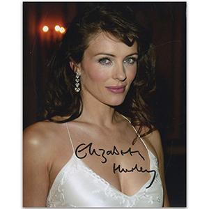 Elizabeth Hurley Autograph - Signed Photograph
