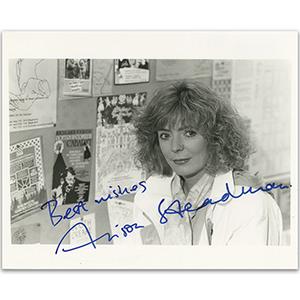 Alison Steadman - Autograph - Signed Black and White Photograph