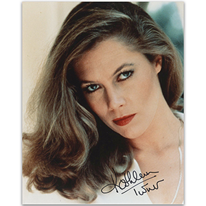 Kathleen Turner  - Autograph - Signed Colour Photograph