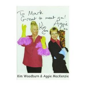 Kim Woodburn & Aggie MacKenzie - Autograph - Signed Colour Photograph