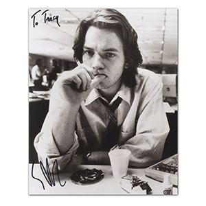 Ewan McGregor - Autograph - Signed Black and White Photograph