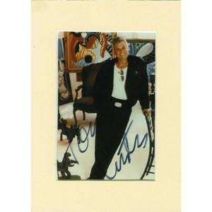 Tony Curtis - Autograph - Signed Colour Photograph
