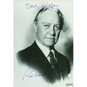 Richard Todd  - Autograph - Signed Black and White Photograph