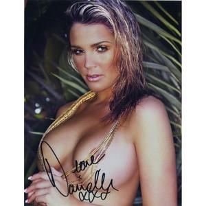 Danielle Lloyd  - Autograph - Signed Colour Photograph