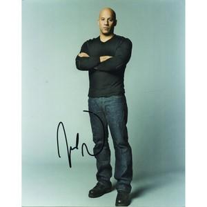 Vin Diesel - Autograph - Signed Colour Photograph