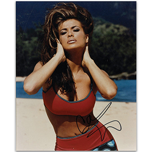 Carmen Electra - Autograph - Signed Colour Photograph