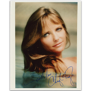 Cheryl Tiegs - Autograph - Signed Colour Photograph