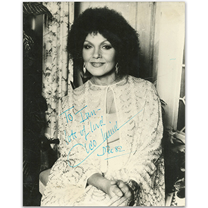 Cleo Laine - Autograph - Signed Black and White Photograph