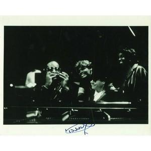 Dionne Warwick Signed Black and White Photograph
