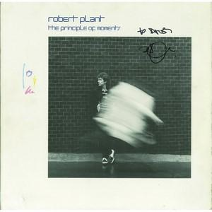 Robert Plant - Autograph - Signed Album Cover