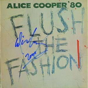 Alice Cooper - Autograph - Signed Album Cover