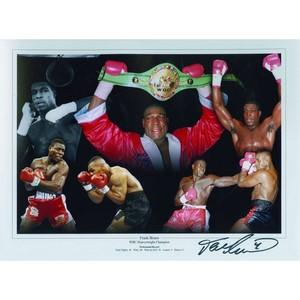Frank Bruno - Autograph - Signed Colour Photograph