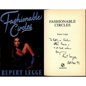 Rupert Legge Signed Book 'Fashionable Circles'