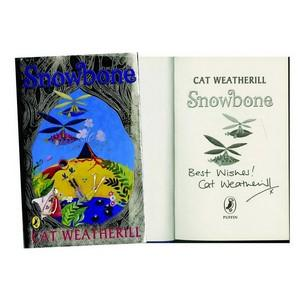 Cat Weatherill Signed Book 'Snowbone'