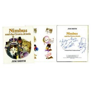 Jim Smith Signed Book ' Nimbus and The Crown Jewels'