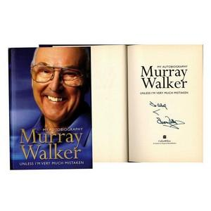 Murray Walker - Autograph - Signed Book