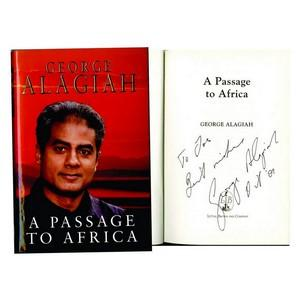 George Alagiah Signed Book  A Passage to Africa