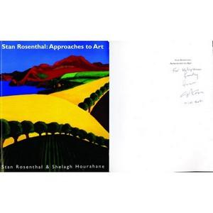 Stan Rosenthal - Autograph - Approaches to Art - Signed Book