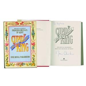 Princess Michael of Kent Signature - Signed Book