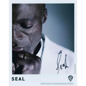Seal - Autograph - Signed Colour Photograph